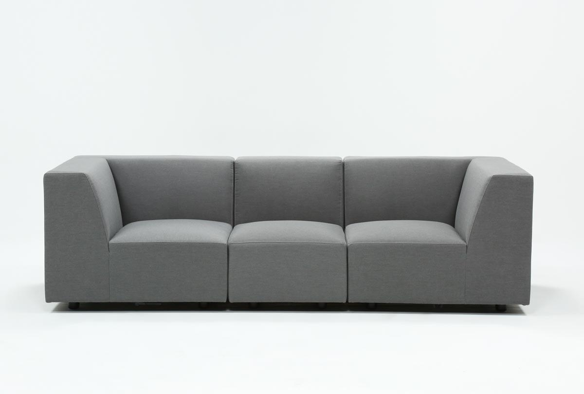 Outdoor Saint Vincent 3 Piece Sectional   Living Spaces Inside Turdur 3 Piece Sectionals With Laf Loveseat (Image 16 of 25)