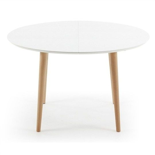 Outstanding White Round Extending Dining Table – Architectural Inside White Round Extending Dining Tables (Image 13 of 25)