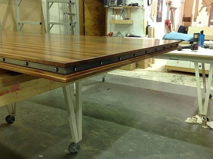 Outstanding Woodworking Dining Table Reddit Plans Extension Fine With Jefferson Extension Round Dining Tables (Photo 14 of 25)