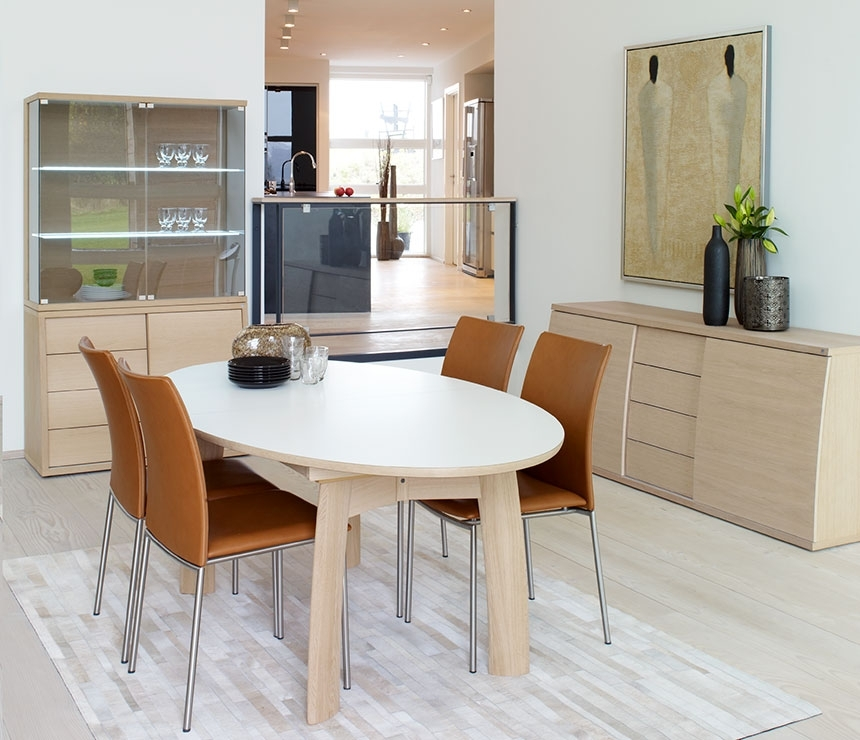 Oval Dining Table Modern — Home Design Ideas With White Oval Extending Dining Tables (Photo 20 of 25)