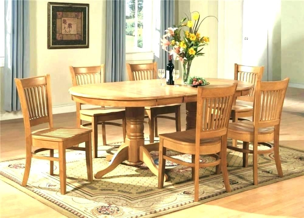 Oval Dining Table Set – Dictionaru For 6 Chair Dining Table Sets (Image 21 of 25)