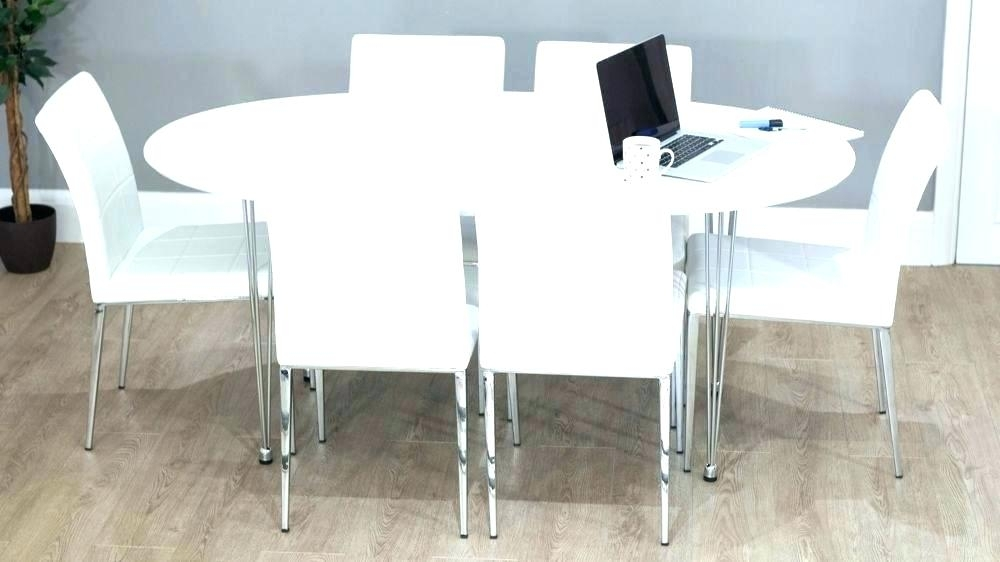 Oval Extending Dining Table Ikea – Living Beautiful Simple For Round Dining Tables Extends To Oval (Image 14 of 25)