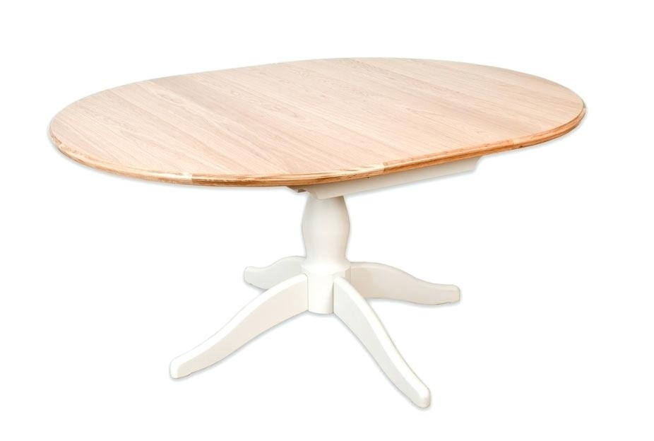 Oval Extending Table – Verged regarding White Oval Extending Dining Tables