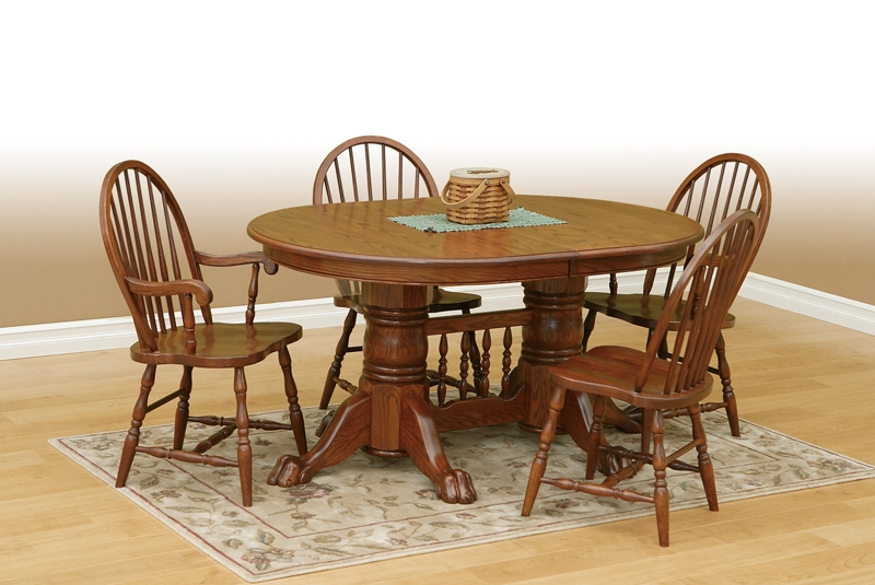 Oval Oak Dining Table - Go To Chinesefurnitureshop For Even More in Oval Oak Dining Tables and Chairs