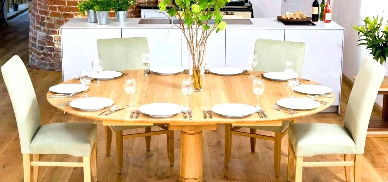 Oval Oak Dining Table Oval Oak Dining Table With 4 Legs Pertaining To Round Dining Tables Extends To Oval (Image 15 of 25)