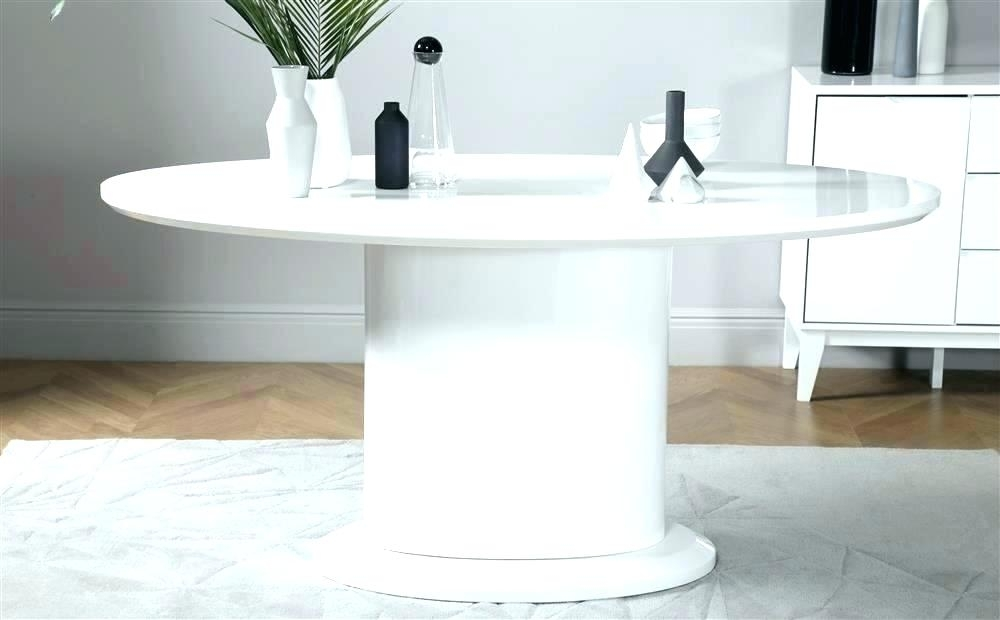 Oval White Dining Table Dining Table Oval White Dining Table Ikea With Regard To Oval White High Gloss Dining Tables (Photo 15 of 25)