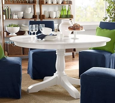 Owen Extending Pedestal Dining Table | Design Trend: Artisanal With Regard To Artisanal Dining Tables (Image 18 of 25)