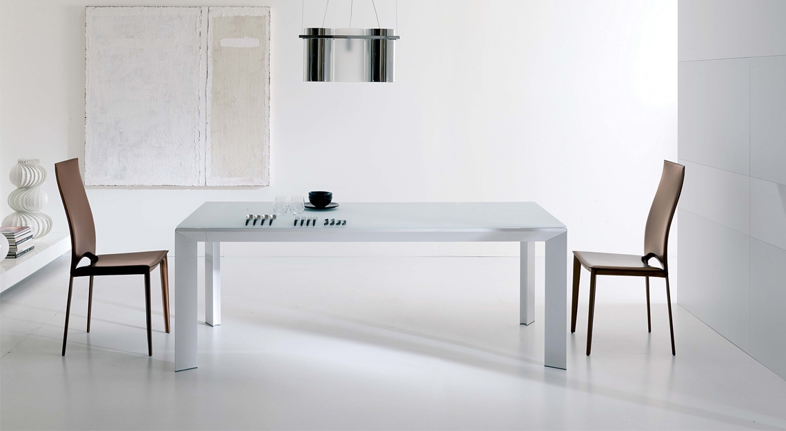 Ozzio Italia | Metro' Dining Table | Modern Dining Room Pertaining To Metro Dining Tables (Image 22 of 25)