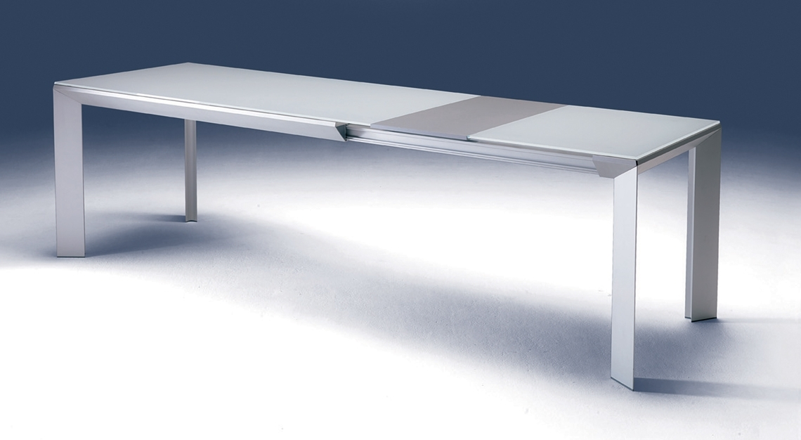 Ozzio Italia | Metro' Dining Table | Modern Dining Room With Metro Dining Tables (Image 23 of 25)