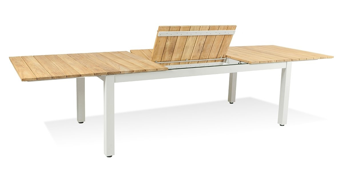 Pacific Extendable Dining Table Aluminum – Harbour Outdoor For Outdoor Extendable Dining Tables (Image 20 of 25)