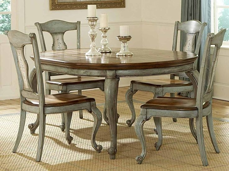 Paint A Formal Dining Room Table And Chairs – Bing Images | Around Intended For Laurent 5 Piece Round Dining Sets With Wood Chairs (Image 18 of 25)