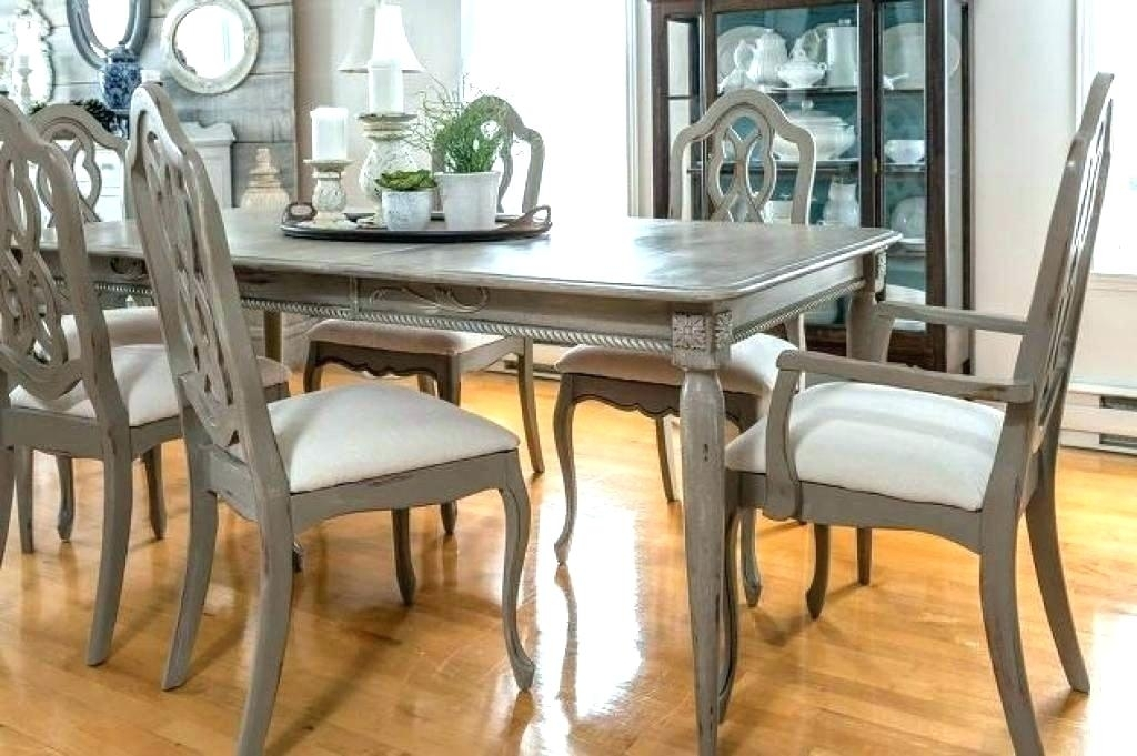 Painted Dining Room Table Ideas – Bienmaigrir Inside Painted Dining Tables (Image 15 of 25)
