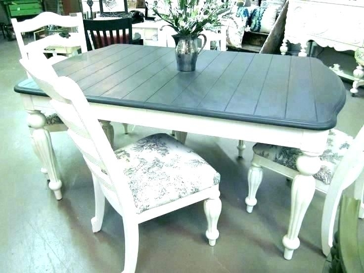 Painted Dining Table Diy – Pizzaitaliana In Painted Dining Tables (Image 19 of 25)