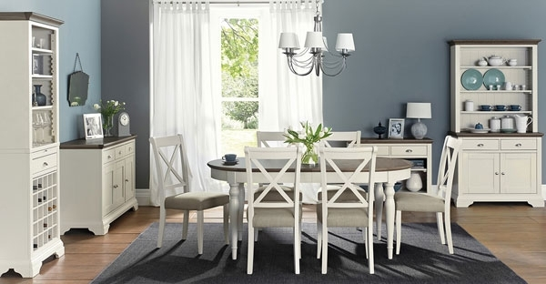 Painted Furniture: Bedroom, Dining & Living Room Range – Cfs For Ivory Painted Dining Tables (View 15 of 25)