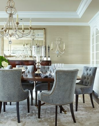 Palazzo 7 Piece Rectangle Dining Set With Joss Side Chairs For Palazzo 7 Piece Dining Sets With Pearson Grey Side Chairs (Image 21 of 25)