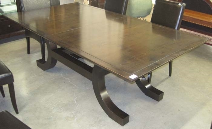 Palazzo Dining Table Wtwo Leaves, Model 4852Xorlando Diaz Azcuy With Palazzo Rectangle Dining Tables (View 15 of 25)