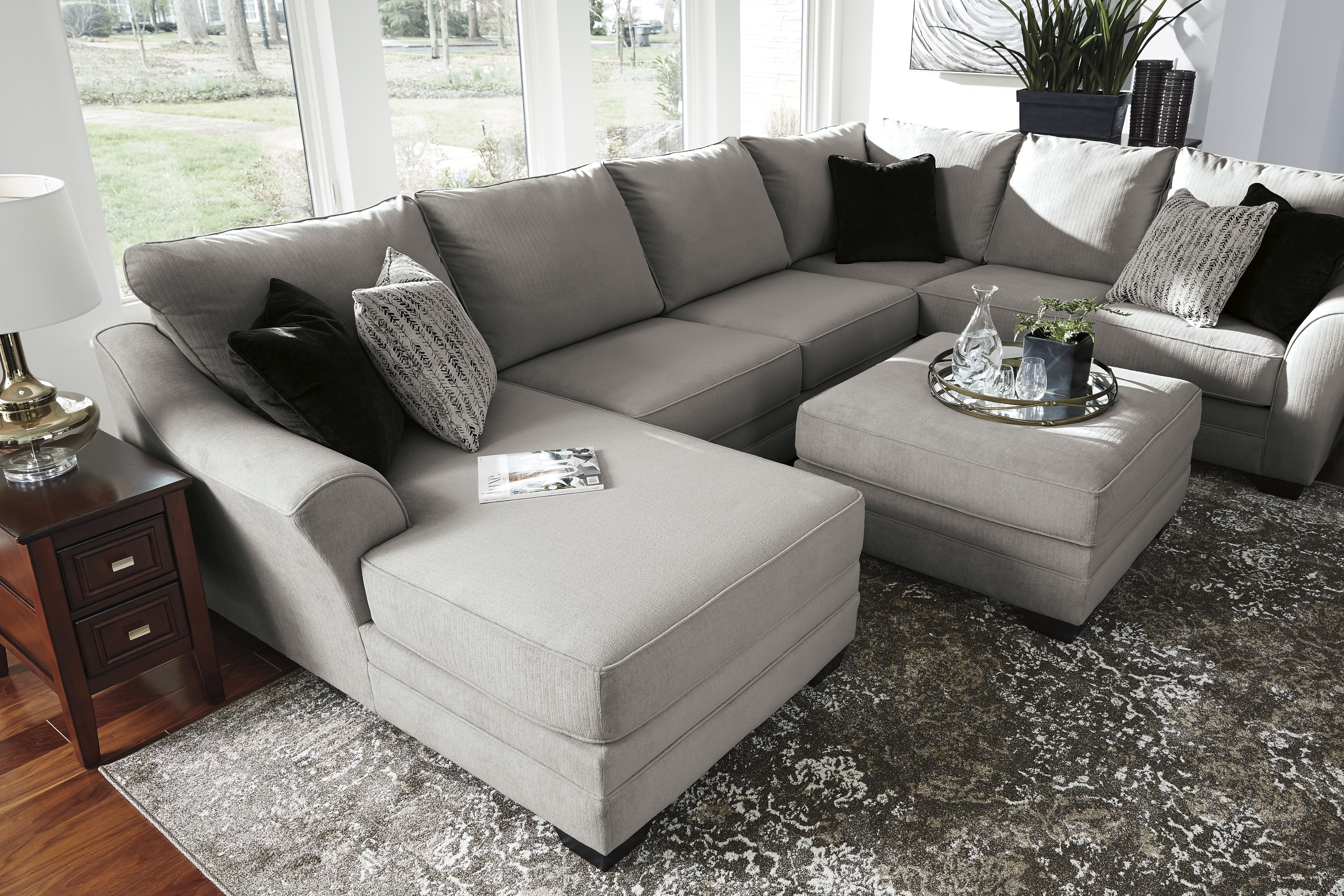 Palempor 3 Piece Laf Sectional In 2018 | Home Is Where The Heart Is Inside Norfolk Grey 6 Piece Sectionals With Raf Chaise (Image 21 of 25)
