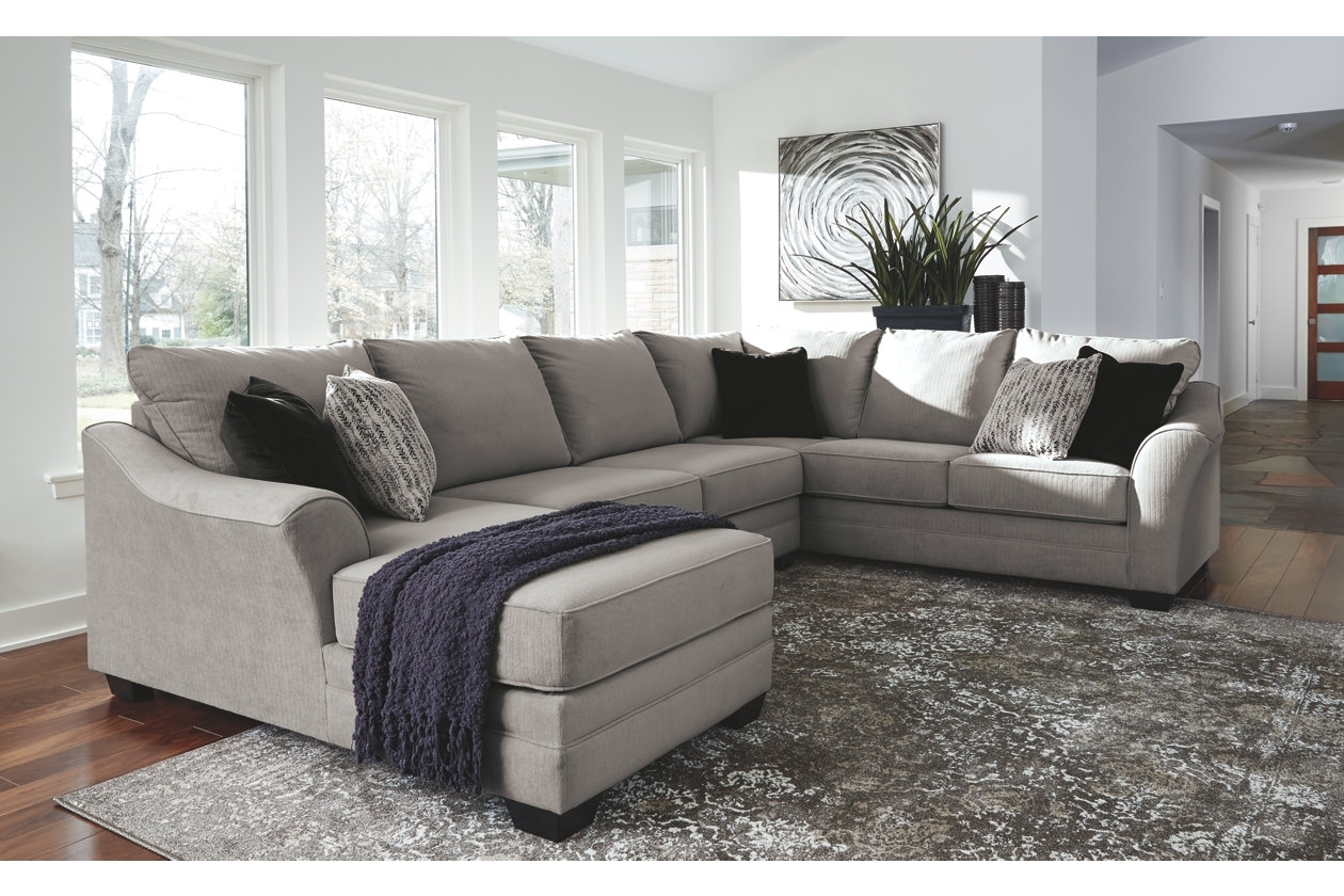 Palempor 3 Piece Sectional | Ashley Furniture Homestore | Boston With Benton 4 Piece Sectionals (Image 15 of 25)