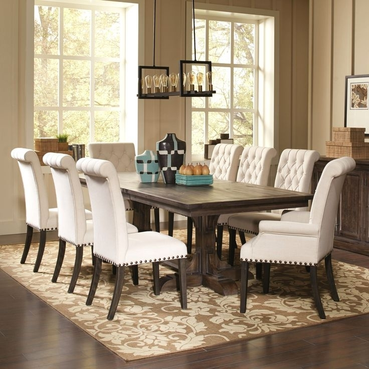 Pam Jepkema (Mwpaje) On Pinterest inside Chapleau Ii 9 Piece Extension Dining Table Sets