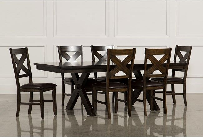 Pam Jepkema (Mwpaje) On Pinterest With Regard To Chapleau Ii 9 Piece Extension Dining Tables With Side Chairs (View 3 of 25)
