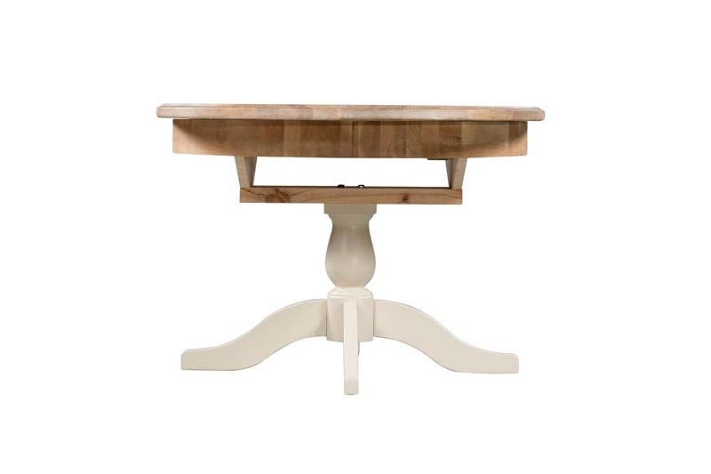 Paris Round Extendable Dining Table – Ger Gavin – Bedroom Furniture Throughout Round Extendable Dining Tables (Image 13 of 25)