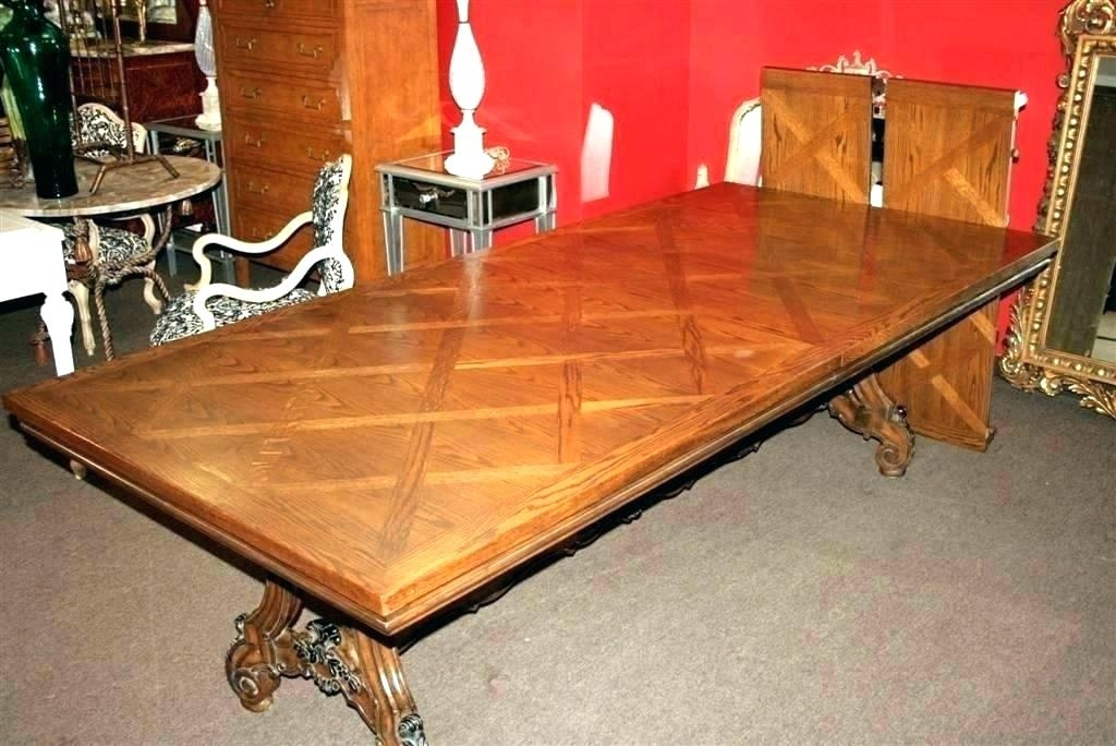 Parquetry Table Top – Dnasports Pertaining To Parquet Dining Tables (Image 16 of 25)