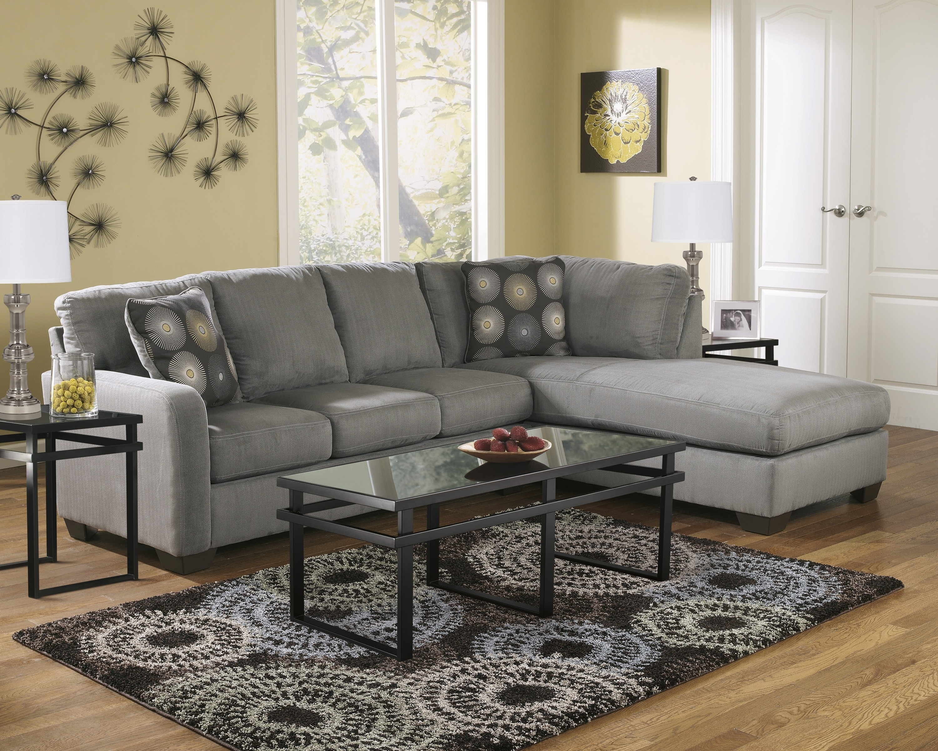 Particular Cosette Sectional Morris Home Sectional Sofas To Exciting Intended For Kerri 2 Piece Sectionals With Laf Chaise (View 25 of 25)