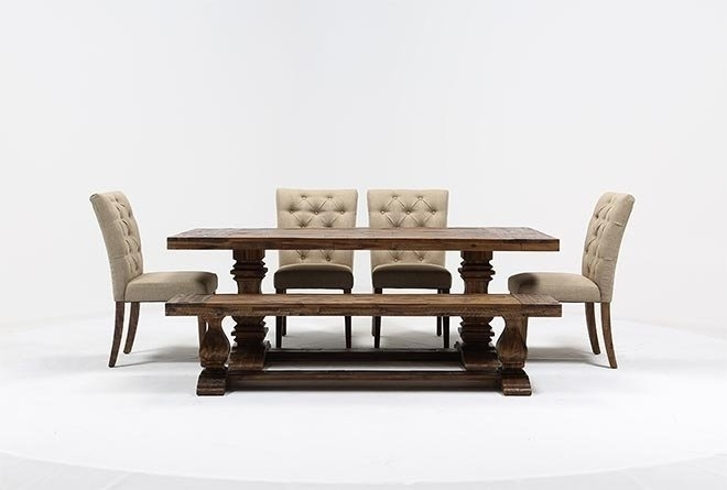 Partridge 6 Piece Dining Set | Living Spaces With Regard To Partridge Dining Tables (Image 13 of 25)