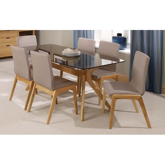 Featured Image of Oak Glass Top Dining Tables