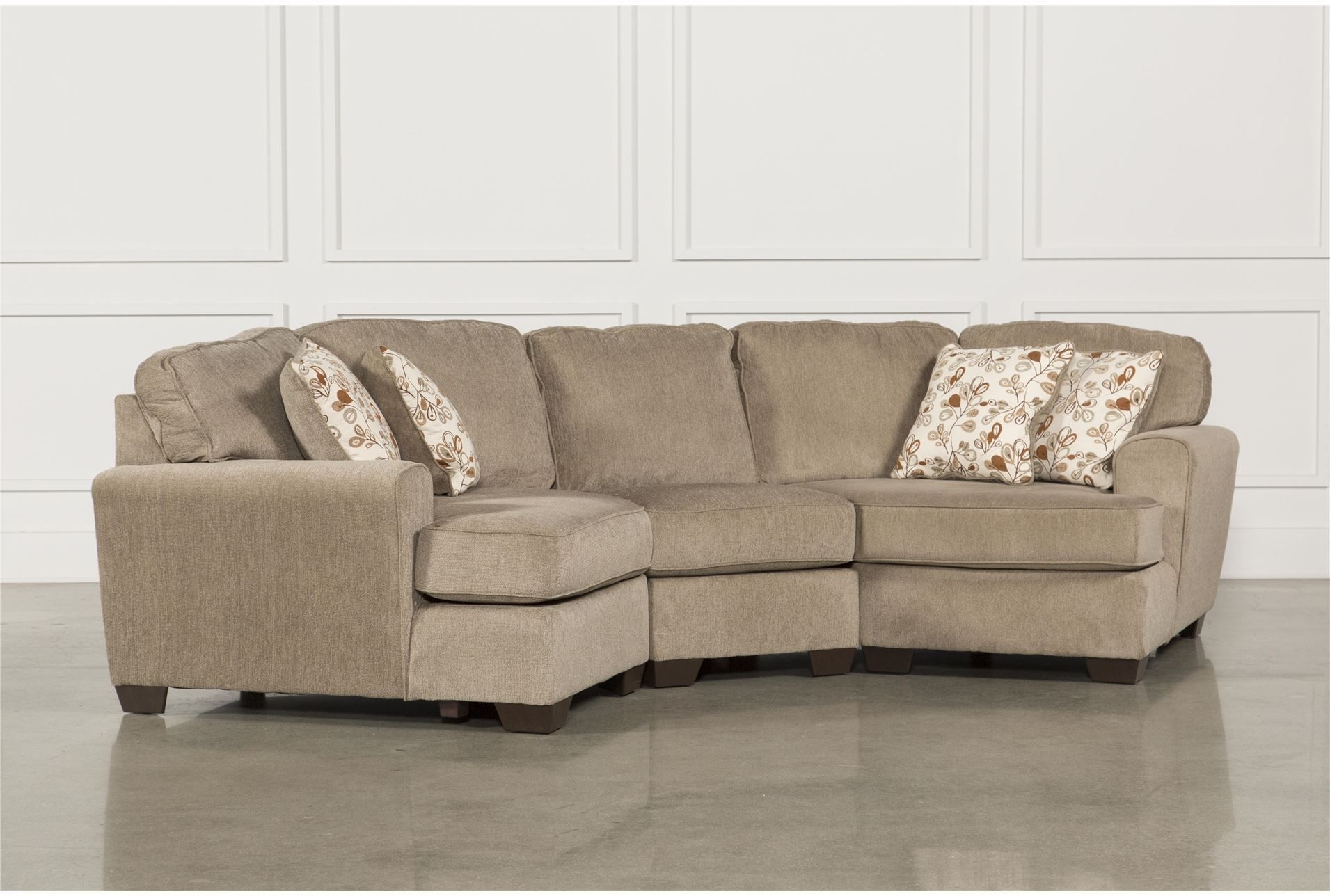 "Patola Park 3 Piece Sectional W/2 Cuddlers Dimensions: 152""w X 49""d For Karen 3 Piece Sectionals (Image 16 of 25)"