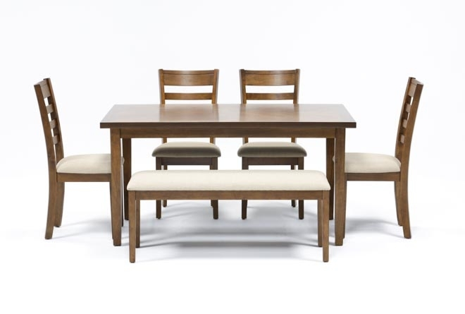 Patterson 6 Piece Dining Set | Living Spaces Inside Patterson 6 Piece Dining Sets (View 3 of 25)