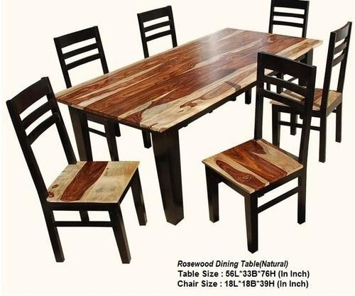 Pbc Wooden Sheesham Wood Dining Table, Rs 20000 /piece, Pal Balaji Regarding Sheesham Dining Tables And Chairs (Image 13 of 25)
