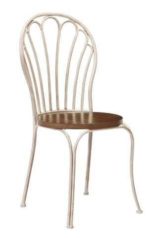 Peacock Metal Chair | The Celebrity Designers Of Furnitureland South With Magnolia Home Array Dining Tables By Joanna Gaines (View 9 of 25)
