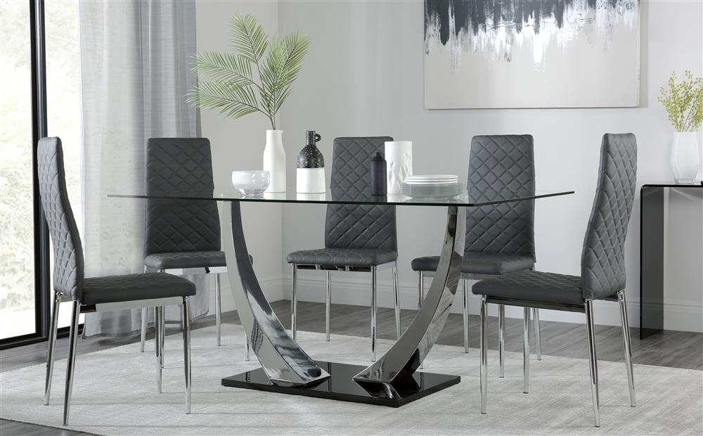 Featured Image of Chrome Dining Tables And Chairs