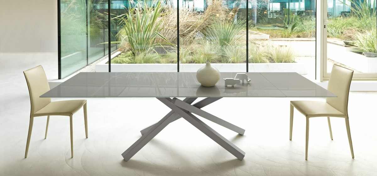 Pechino All Extendable Table | Midj In Delfina Dining Tables (Image 19 of 25)