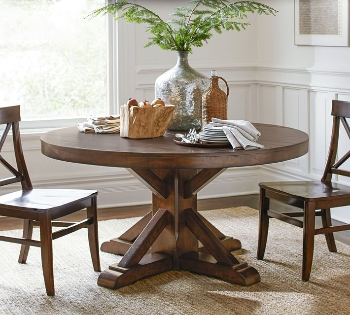 Pedestal Dining Room Pedestal Dining Room Table As Argos Dining For Pedestal Dining Tables And Chairs (Image 19 of 25)