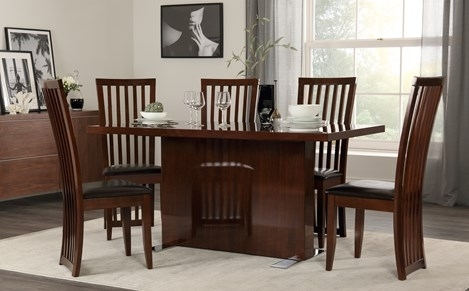 Pedestal Dining Sets | Furniture Choice With Pedestal Dining Tables And Chairs (Image 21 of 25)