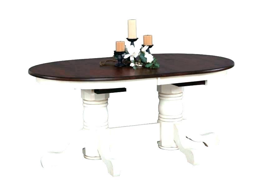 Pedestal Kitchen Table Dining Room Magnolia Home Double Pedestal Intended For Magnolia Home Double Pedestal Dining Tables (Image 24 of 25)