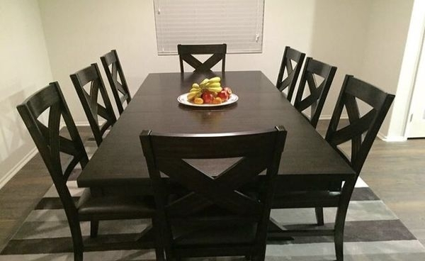 Pelennor Extension Dining Table (4) Chairs For Sale In Los Angeles With Pelennor Extension Dining Tables (View 6 of 25)