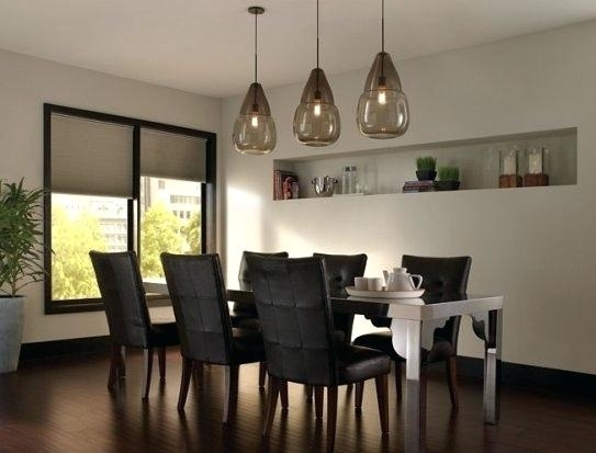 Pendant Lighting Over Dining Room Table Pendant Lighting Dining Room Throughout Over Dining Tables Lights (View 22 of 25)
