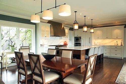 Pendant Lighting Over Kitchen Table 3 Pendant Lights Over Dining For Over Dining Tables Lights (View 10 of 25)