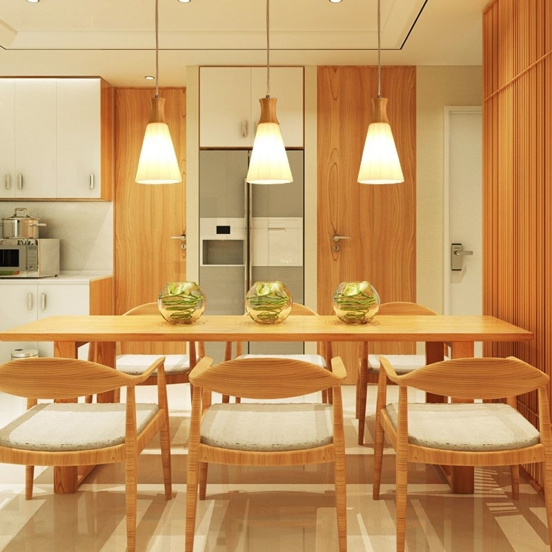 Pendant Lights Three Head Dining Table Light Modern Nordic A1 Style Within Led Dining Tables Lights (Image 23 of 25)