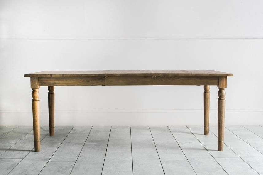 Perch & Parrow | Cooper Oak Extendable Dining Table In Natural For Cooper Dining Tables (Image 20 of 25)