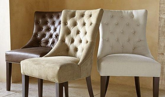 Perfect Beige Leather Dining Chair Rollback In Matt Ivory All Sofa Throughout Ivory Leather Dining Chairs (Image 21 of 25)