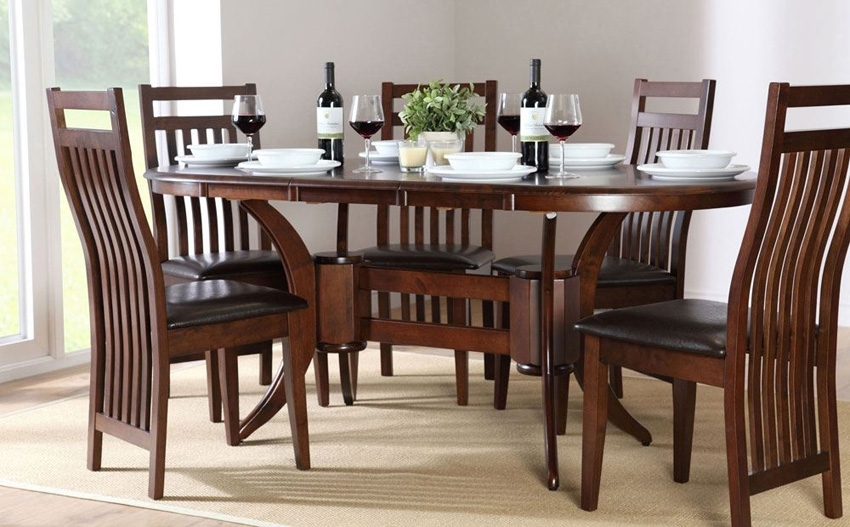 Perfect Dining Table And Chair Combination – Blogbeen Throughout Wooden Dining Sets (Image 16 of 25)