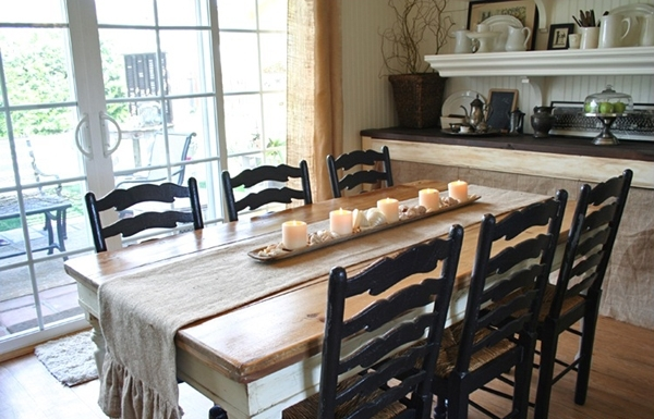 Perfect Ideas Country Style Fascinating Country Style Dining Room Regarding Country Dining Tables (Image 17 of 25)