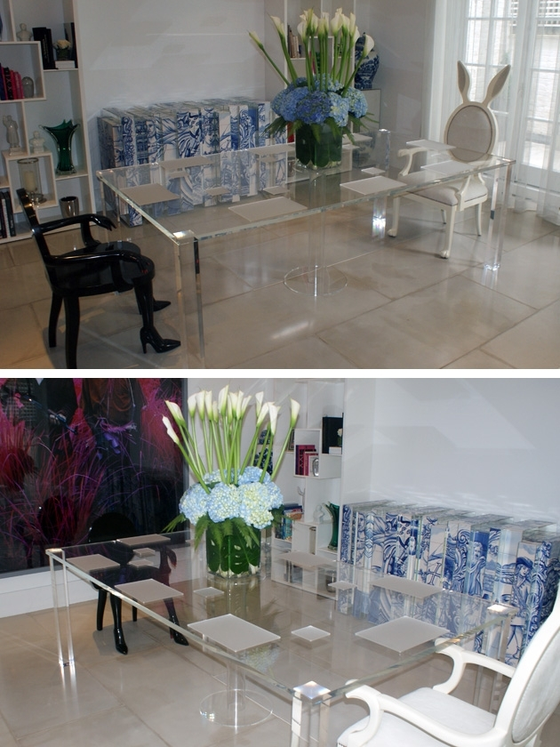 Perspex Fabrication And Acrylic Fabrication – Perspex Furniture With Regard To Acrylic Dining Tables (Image 20 of 25)
