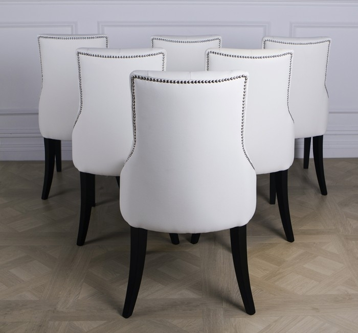 Perth White Leather Dining Chair Only 69 99 Furniture Choice Inside Pertaining To Perth White Dining Chairs (Image 22 of 25)