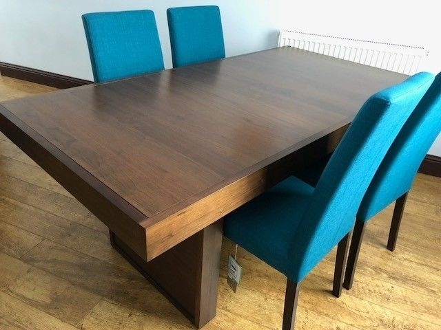 Phoenix Dining Table & 4 Chairs (Ex Sterling Furniture) | In Bridge Within Phoenix Dining Tables (Image 14 of 25)