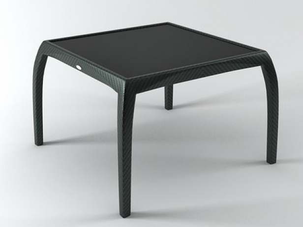 Phoenix Small Dining Table 3D Model | Dedon With Regard To Phoenix Dining Tables (Image 20 of 25)